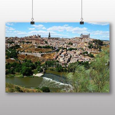 Big Box Art Toledo Spain No.2 Photographic Print Wrapped on Canvas