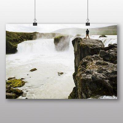 Big Box Art 'The Waterfall' Photographic Print