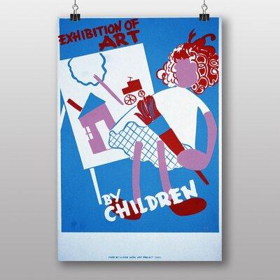 Big Box Art Exhibition No.60 Vintage Advertisement
