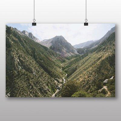 Big Box Art Stream Path No.2 Photographic Print Wrapped on Canvas