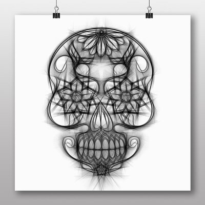 Big Box Art 'Sugar Skull Tattoo No.3' Graphic Art