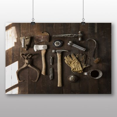 Big Box Art Tool Shed Photographic Print