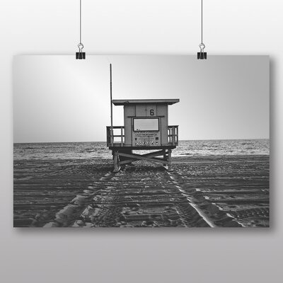 Big Box Art 'The Beach Station' Photographic Print