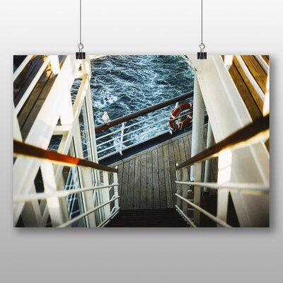 Big Box Art 'Stairs on the Ship' Photographic Print