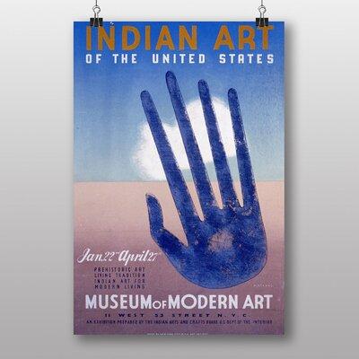 Big Box Art Indian Art Vintage Advertisement