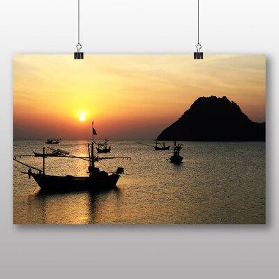 Big Box Art Sunrise Photographic Print