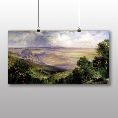 Big Box Art 'Valley of Cuernavaca' by Thomas Moran Art Print