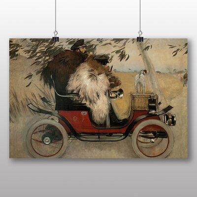 Big Box Art 'Automobile' by Ramon Casas i Carbo Art Print