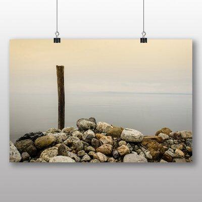 Big Box Art Stick and Stones Photographic Print on Canvas