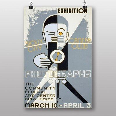 Big Box Art Photographs Exhibition Vintage Advertisement