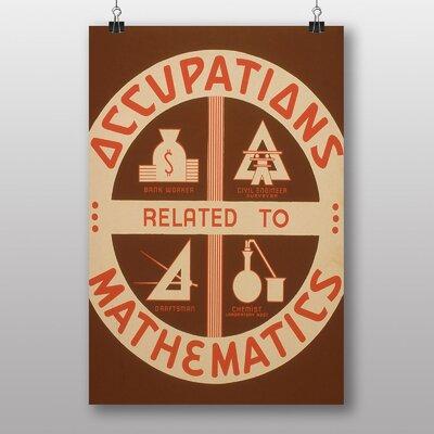 Big Box Art Mathematics No.3 Vintage Advertisement