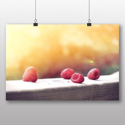 Big Box Art 'Rasberries No.2' Photographic Print
