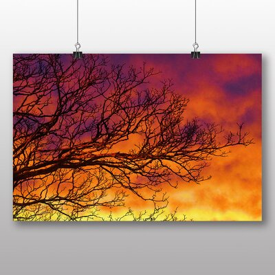 Big Box Art Sunset No.13 Photographic Print Wrapped on Canvas