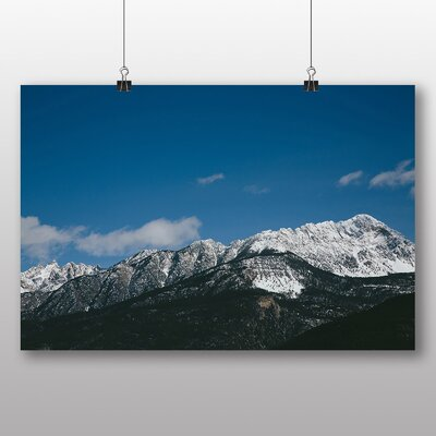 Big Box Art 'The View of the Mountains No.2' Photographic Print