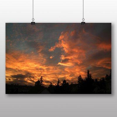 Big Box Art Sunset in Prague No.2 Photographic Print