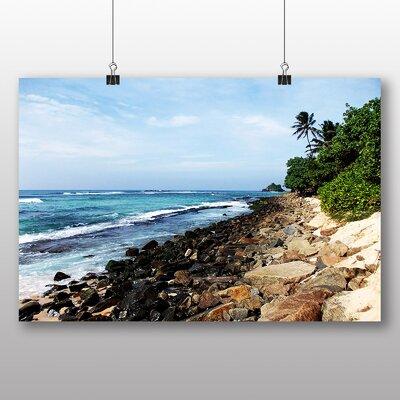 Big Box Art Sri Lanka Landscape Photographic Print Wrapped on Canvas