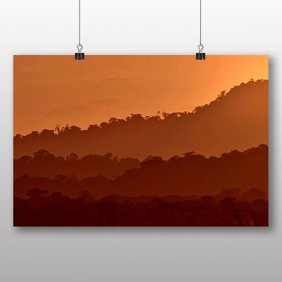 Big Box Art Sunset Guyana Photographic Print on Canvas