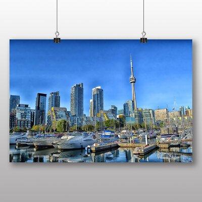 Big Box Art Toronto CN Tower Canada Skyline No.2 Photographic Print