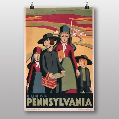 Big Box Art Pennsylvania No.1 Vintage Advertisement