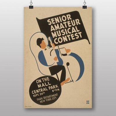 Big Box Art Musical Contest No.2 Vintage Advertisement