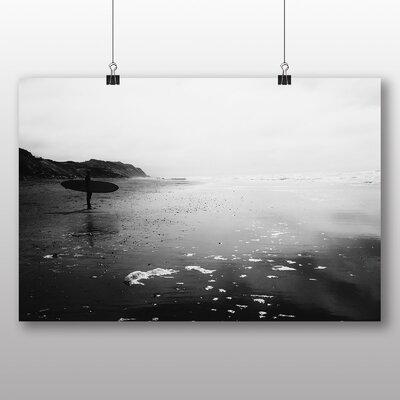 Big Box Art Surfer Surfboard Photographic Print on Canvas