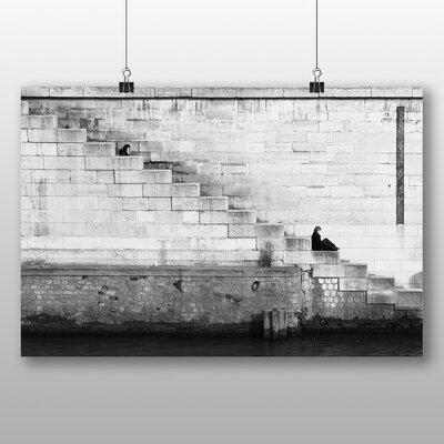 Big Box Art 'Resting on Steps' Photographic Print