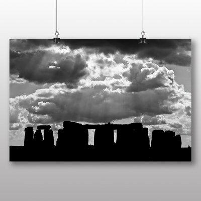 Big Box Art Stonehenge No.5 Photographic Print on Canvas