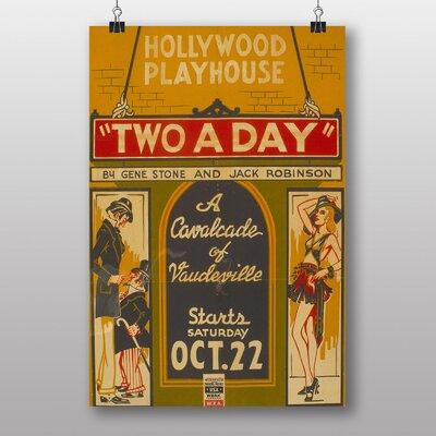 Big Box Art Two a Day Vintage Advertisement