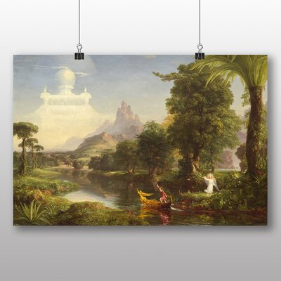 Big Box Art 'The Ages of Life Youth' by Thomas Cole Art Print
