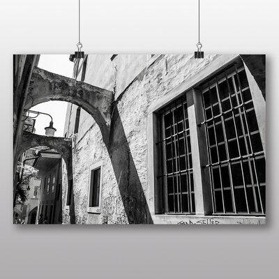 Big Box Art 'Street View Black and White' Photographic Print