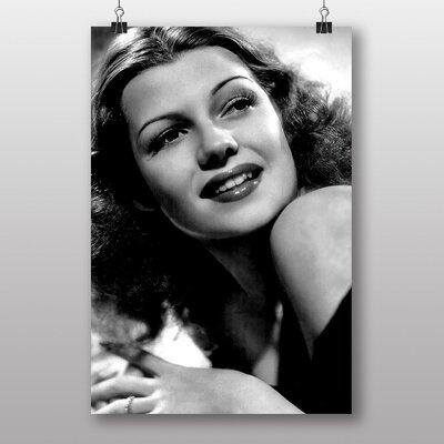 Big Box Art Rita Hayworth No.2 Photographic Print Wrapped on Canvas