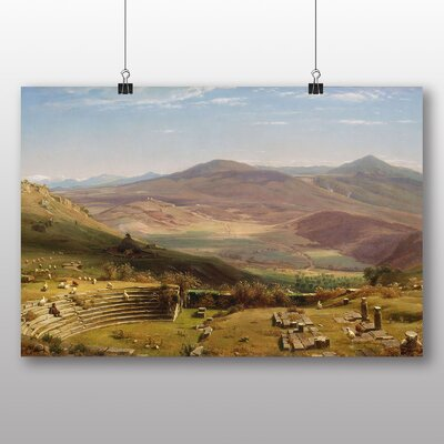 Big Box Art 'The Amphitheatre of Tusculum and Albano Mountains' by Thomas Worthington Whittredge Photographic Print