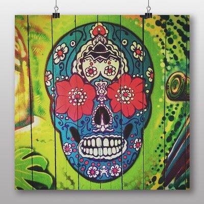 Big Box Art 'Sugar Skull Tattoo No.2' Graphic Art