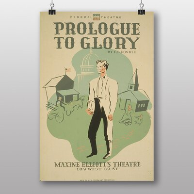 Big Box Art Prologue to Glory Vintage Advertisement