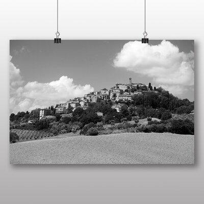 Big Box Art Tuscany Italy No.4 Photographic Print Wrapped on Canvas