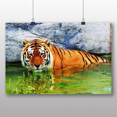 Big Box Art Tiger No.7 Photographic Print Wrapped on Canvas
