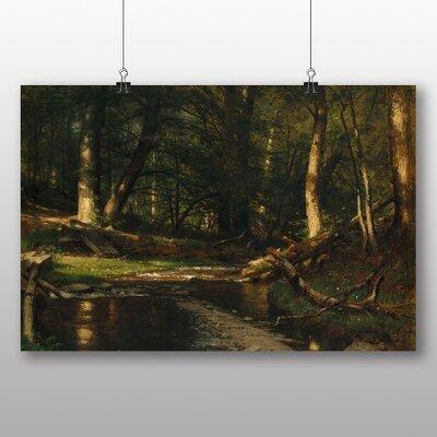 Big Box Art The Brook in the Woods' by Thomas Worthington Whittredge Art Print