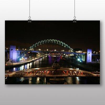 Big Box Art Tyne Bridge Newcastle Photographic Print on Canvas