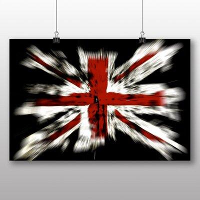 Big Box Art Union Jack Flag No.2 Graphic Art on Canvas