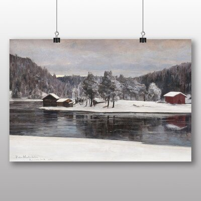 Big Box Art 'Winter Landscape No.3' by Victor Westerholm Art Print