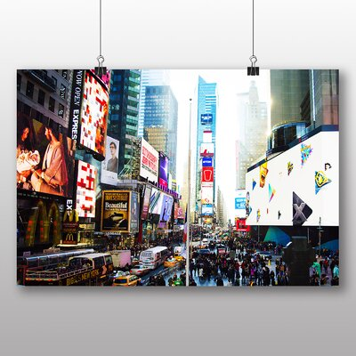 Big Box Art Times Square New York City USA No.7 Photographic Print on Canvas