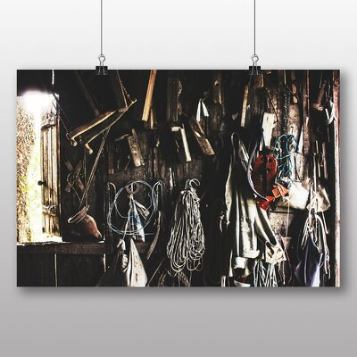 Big Box Art 'Tool Shed Wall' Photographic Print