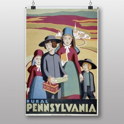 Big Box Art Pennsylvania No.4 Vintage Advertisement