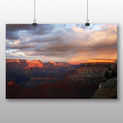 Big Box Art The Grand Canyon No.7 Photographic Print on Canvas
