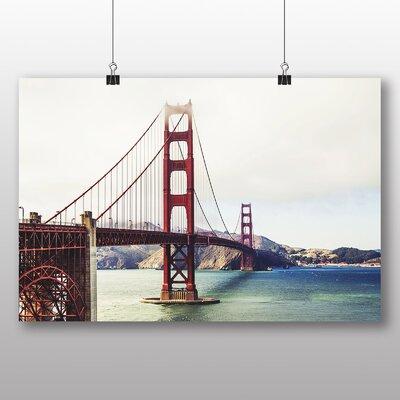 Big Box Art The Golden Gate Bridge San Francisco California No.7 Photographic Print
