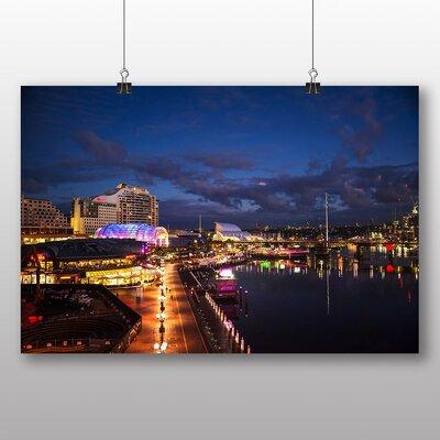 Big Box Art Sydney Harbour Australia No.2 Photographic Print on Canvas