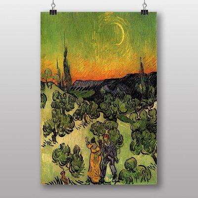 "Big Box Art ""Couple Walking"" by Vincent Van Gogh Art Print"