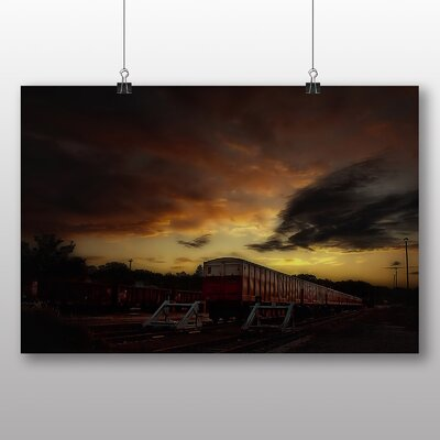Big Box Art Train Tracks No.2 Photographic Print
