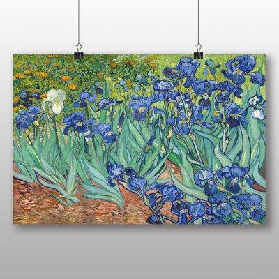 Big Box Art 'Iris Irises Flowers' by Vincent Van Gogh Art Print