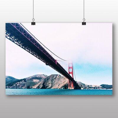 Big Box Art The Golden Gate Bridge San Francisco California No.3 Photographic Print on Canvas